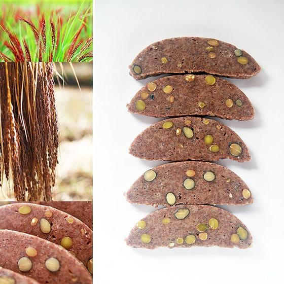 吉田自然農園の自然栽培「豆餅」は、無農薬・無肥料・天日干し・西日本産