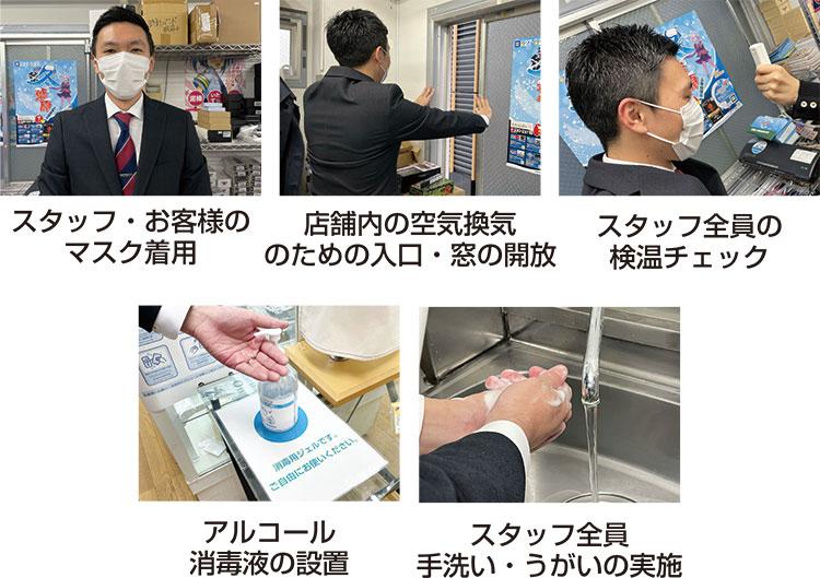 新型コロナウイルス感染拡大に関する取り組み