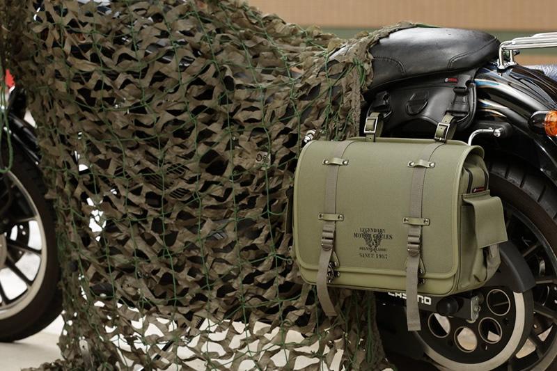 ミリタリー サイドバッグ テキスタイル ウィンカー避け サイドバック ハーレー アメリカン サイドバッグ バイカーズ バイク サイドバッグ 合皮 鉄馬 ナイロン ナイロンサイドバッグ 送料無料