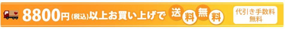 8800円送料無料