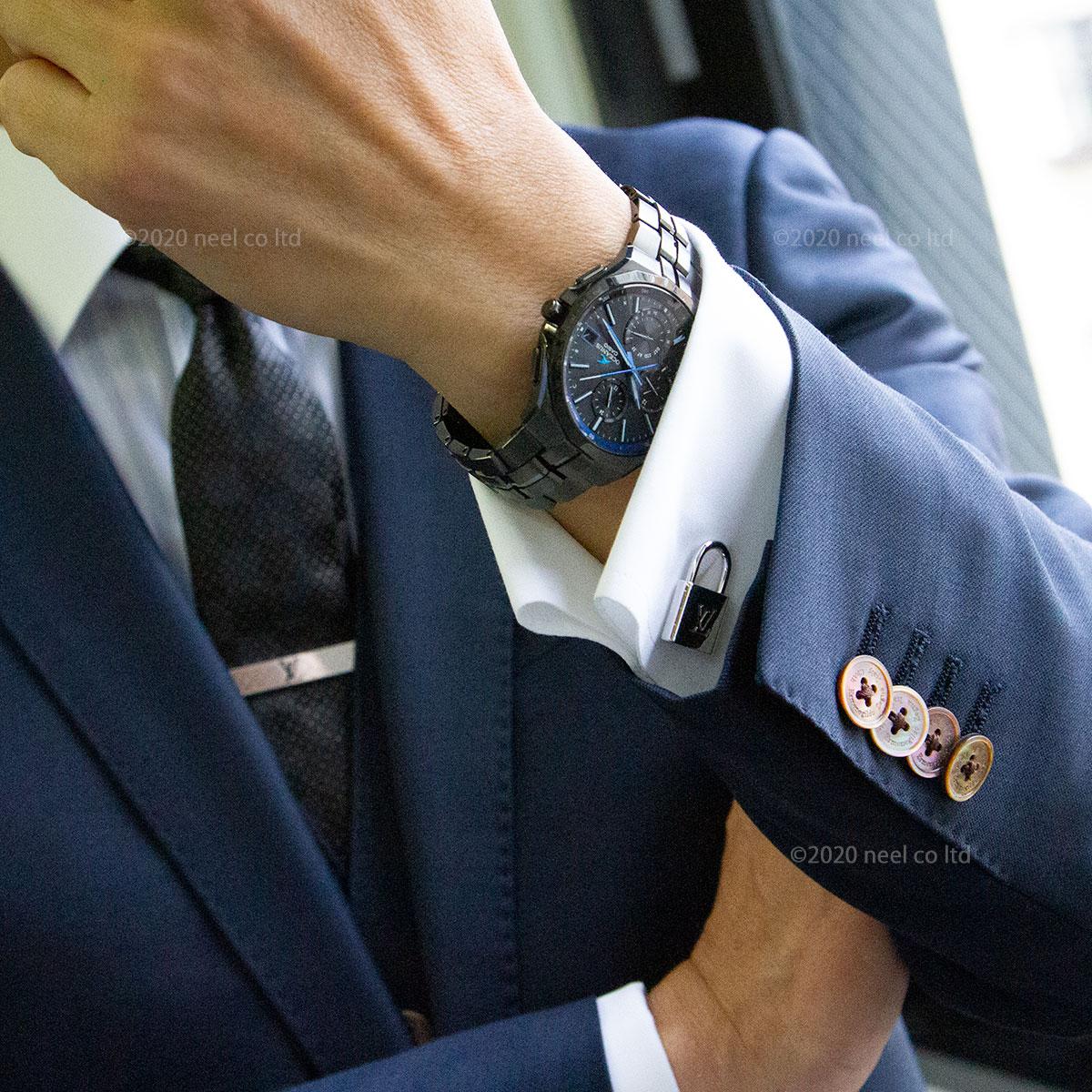 オシアナス マンタ 電波ソーラー 腕時計 メンズ OCW-S5000B-1AJF カシオ