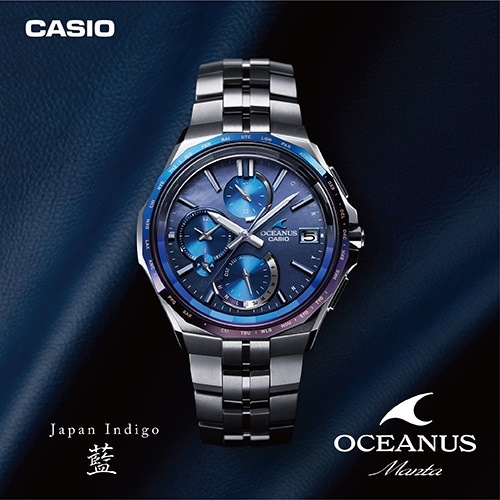 CASIO OCEANUS Japan Indeigo 藍コレクション