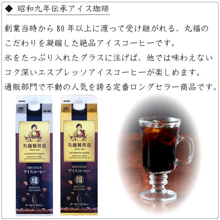 丸福珈琲店の人気定番アイスコーヒー『昭和九年伝承アイス珈琲』