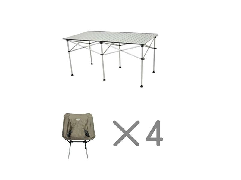 テーブルチェアセット4名様用