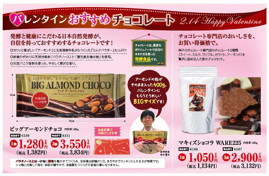 バレンタインおすすめチョコレート ビッグアーモンドチョコ