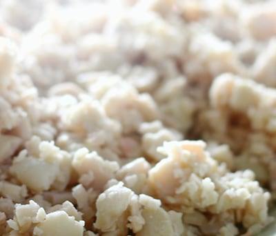 大豆の蒸煮