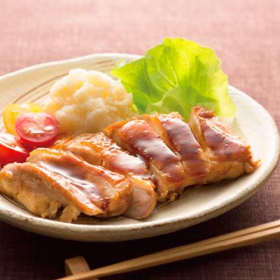 鶏の酢しょうゆ照り焼き