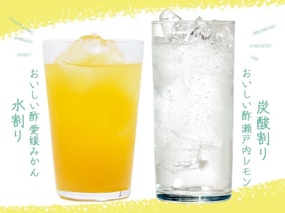 おいしい酢みかんとレモン