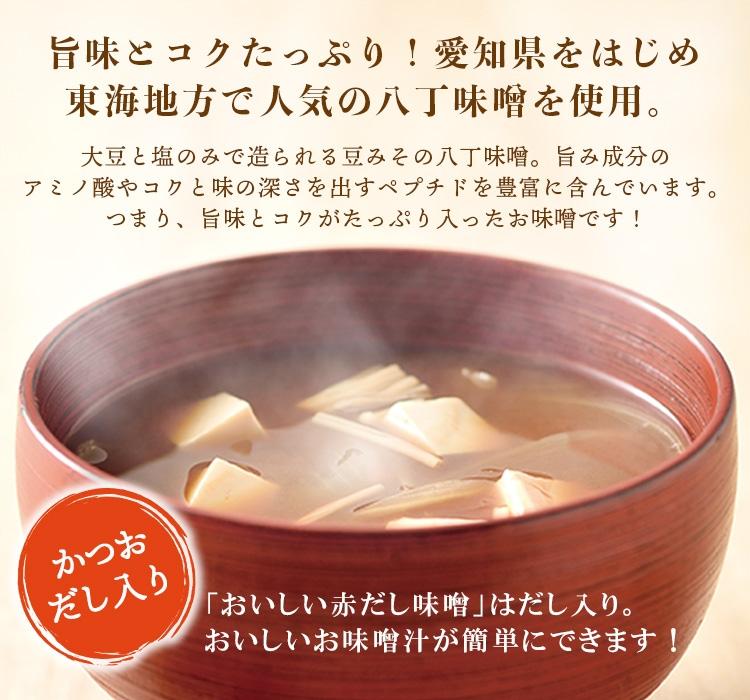 東海地方で人気の八丁味噌を使用