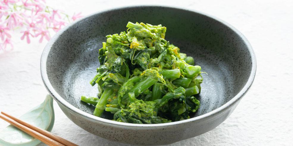 アスパラ菜のサラダ和え