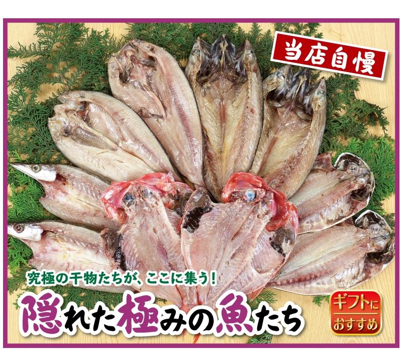 隠れた極みの魚たち