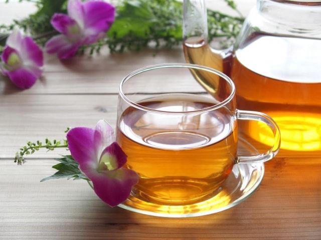 紅茶と使用する水の関係