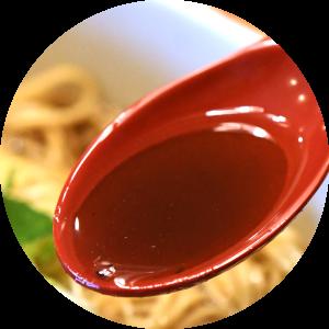そばる鴨出汁醤油ラーメンスープ