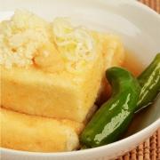 おからパウダーを使った揚げ出し豆腐