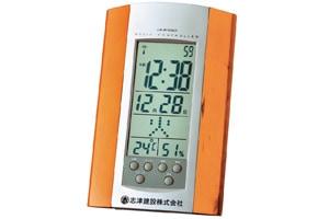 志津建設�様アデッソ電波時計温湿度計付