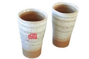 日本民謡協会様陶器フリーカップタンブラー