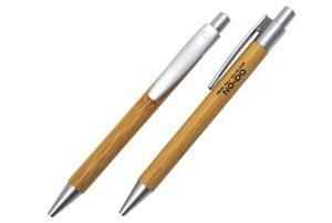 メンズ ヘアサロン NO−DO様木軸ボールペン