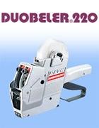 ハンドラベラー DUOBELER220 デュオベラー 2段印字 2色印字 半糊ラベル