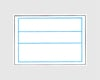 ハンドラベラー PB3-208 専用ラベル 青枠