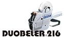 ハンドラベラーduobeler216「オリジナル名入れラベル」