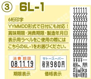 SP即日印字6L-1