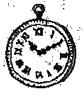 時計のイラストアイコン
