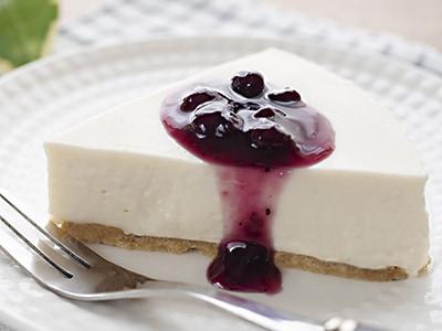 レアチーズケーキの写真</p> </div>