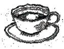 ティーカップのイラストアイコン