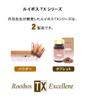 ルイボスTXシリーズの製品