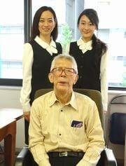 丹羽先生とスタッフ