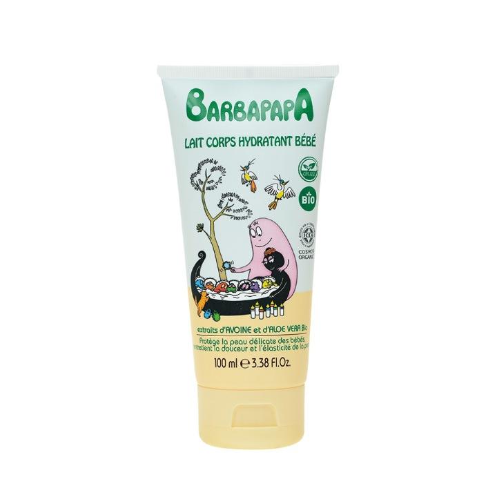 バーバパパオーガニックベビー モイスチャライジン グボディクリーム