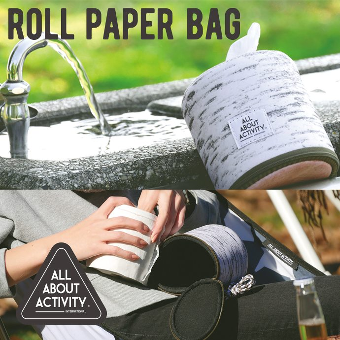 ALL ABOUT ACTIVITY ロールペーパーバッグ