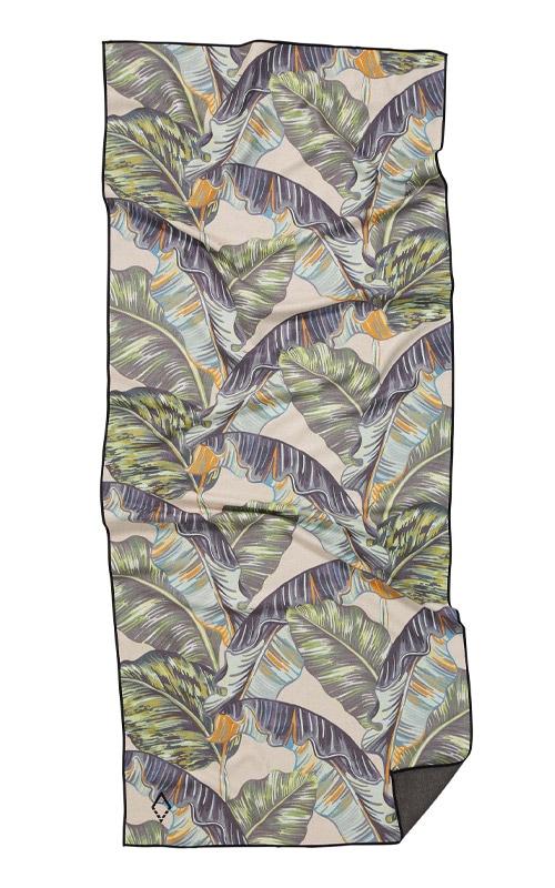 13 BANANA LEAF GREEN TOWEL