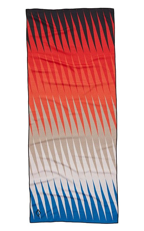 18 HEAT WAVE ORANGEBLUE TOWEL