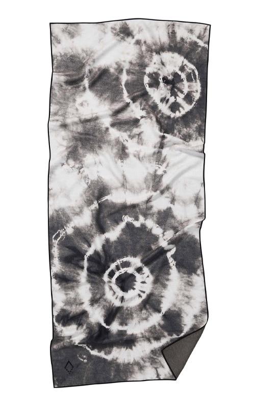TIE DYE 31 BLACK TOWEL