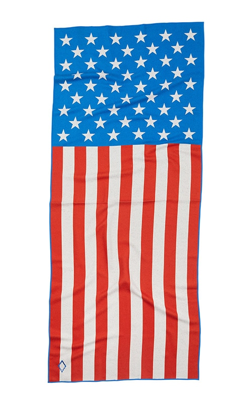 80 AMERICAN FLAG TOWEL
