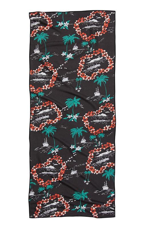 89 LEIS BLACK TOWEL