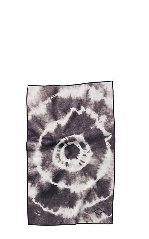 TIE DYE 31 BLACK HAND TOWEL