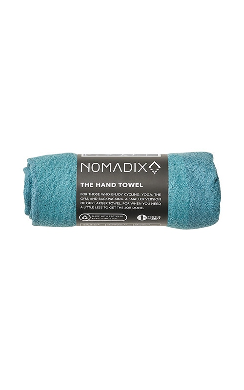 52 ZONE TEAL HAND TOWEL