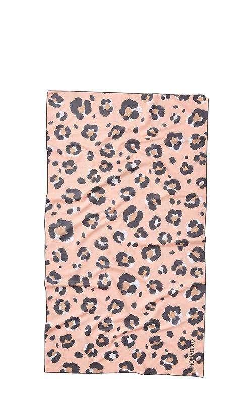 49 LEOPARD PINK ULTRALIGHT TOWEL