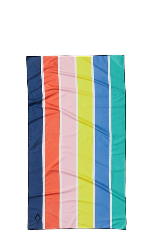 64 VIVID STRIPES MULTI ULTRALIGHT TOWEL