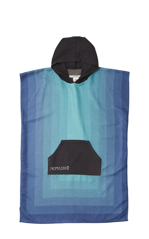 52 ZONE TEAL CHANGING PONCHO