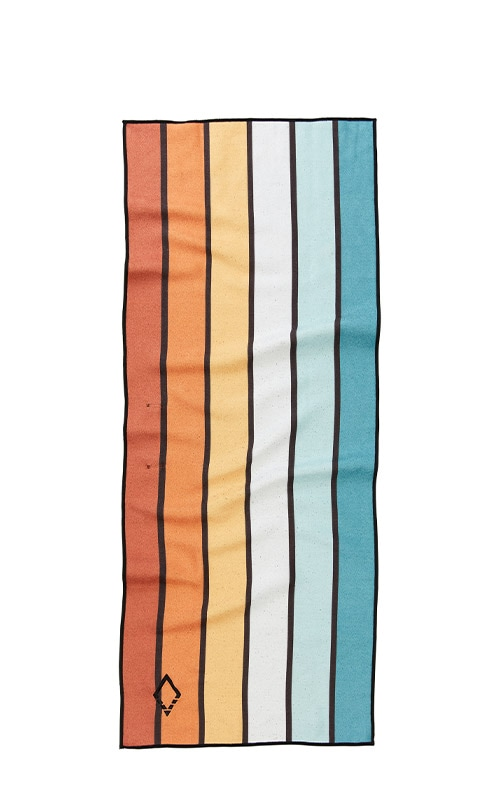39 SUNSET STRIPES DO ANYTHING TOWEL
