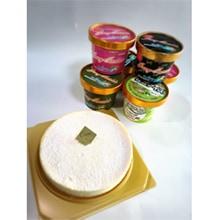 花立チーズケーキ&アイスセット