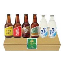 あくらビールファミリーセット(ビール4本+サイダー2本)