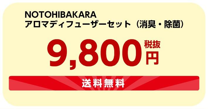 9800円送料無料