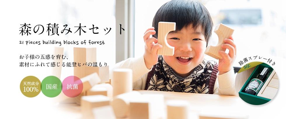 森の積み木セット