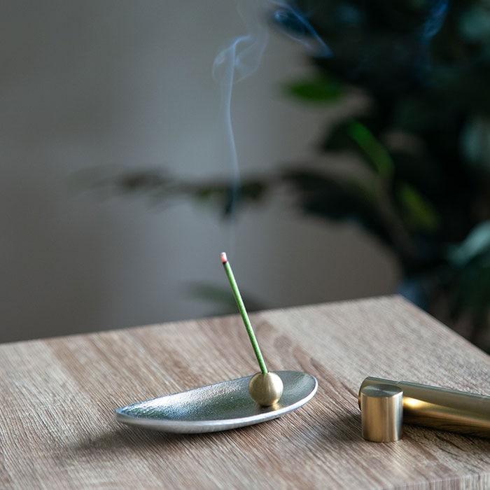 香の器 - お香セット - 笹