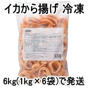 イカから揚げ 1kg 冷凍(6袋セット)