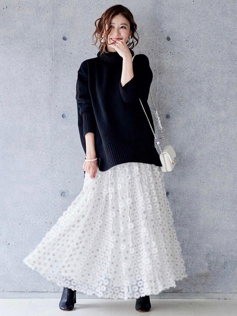 マーガレットレーススカート
